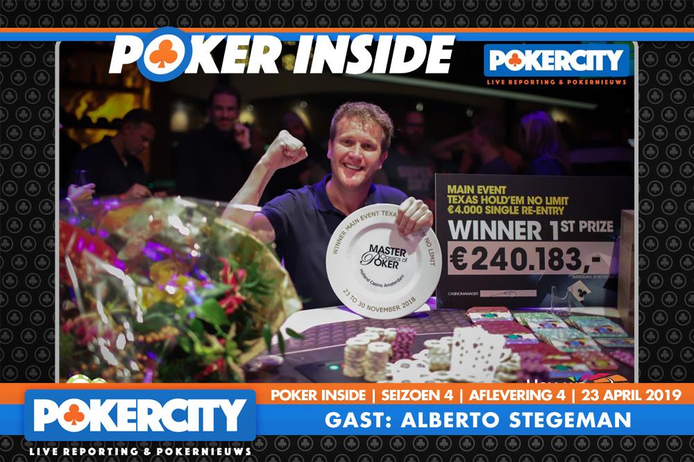 Poker Inside Seizoen 4 – Aflevering 4 – Alberto Stegeman