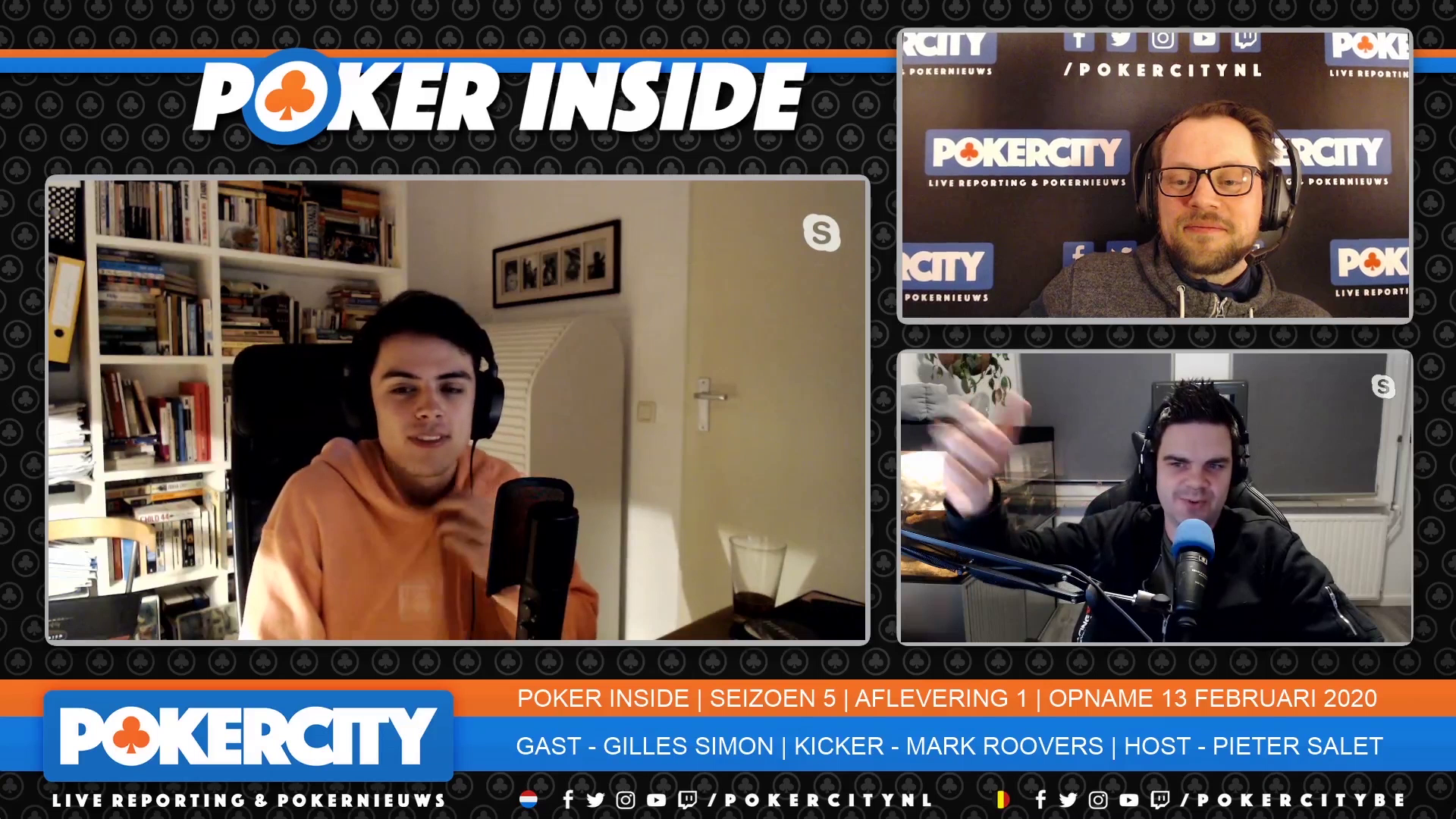 Poker Inside | Seizoen 5 | Aflevering 1 | $30K Platinum Pass-winnaar Gilles 'Ghilley' Simon