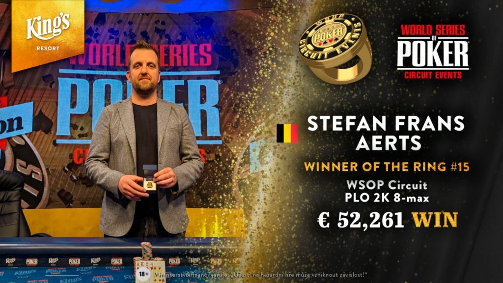 WSOP-C Rozvadov - Stefan Aerts